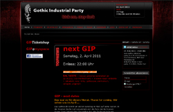 gothic industrial party